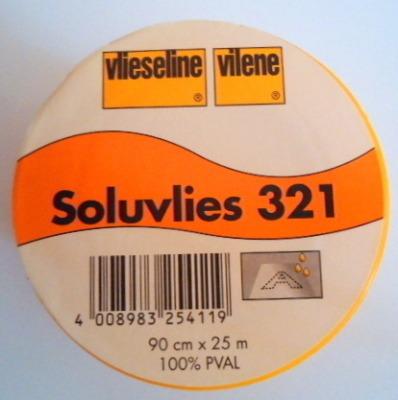 8010 Soluvlies 321 waserlöslich Freudenberg
