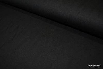 60555 Jersey Viscose Viskose schwarz leicht