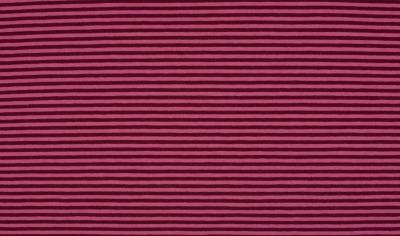 6196 Jersey Stretch Ringel Streifen rose beere