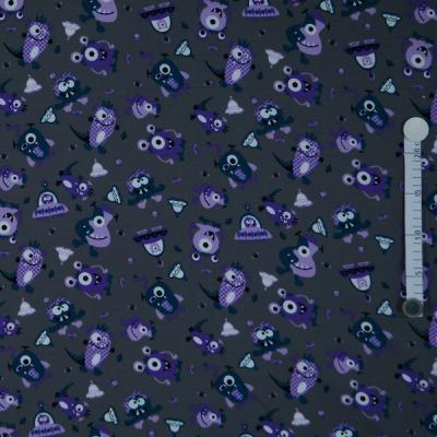 7463 Sweat Sweatshirt Mies & Moos Monster lila