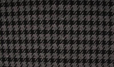 6978 Jersey Stretch Viscose Capri schwarz weiß
