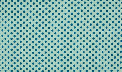 60029 Jersey Stretch türkis Punkte Dots