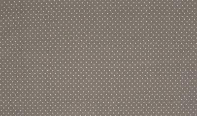 60760 Jersey Stretch Stoff Mini Dots grau