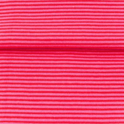 60641 Ringelbündchen Bündchen rot rosa Schlauch