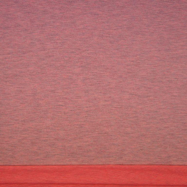 Sweat Stoff Neon pink melange