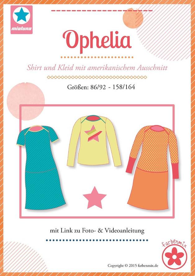 Ophelia Schnittmuster Shirt und Kleid