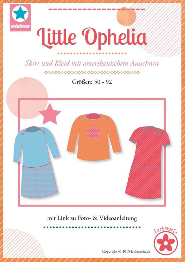 Little Ophelia Schnittmuster Shirt und Kleid