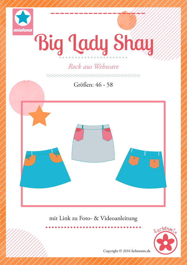 Big Lady Shay Rock Schnittmuster Plus Size