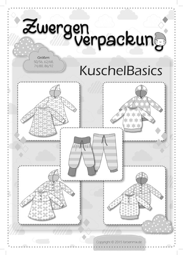 Zwergenverpackung Farbenmix Kuschelbasics