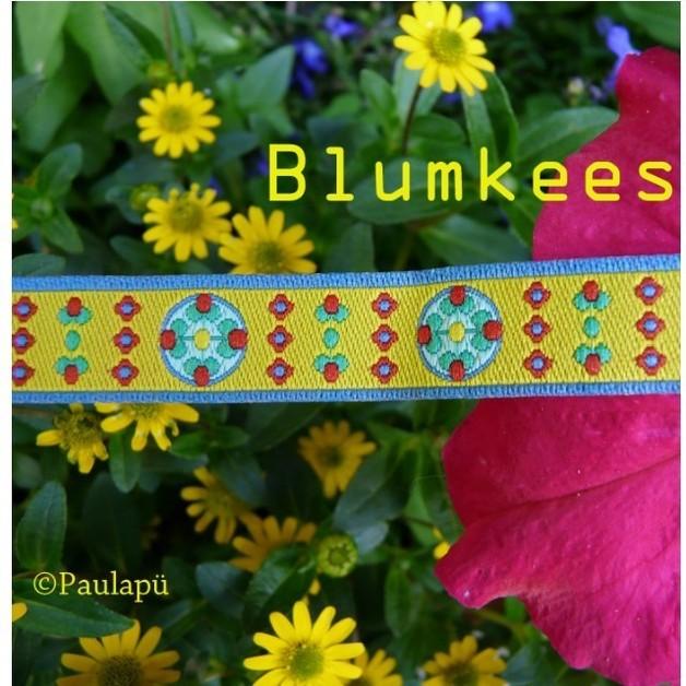 Farbenmix Webband Blumkees
