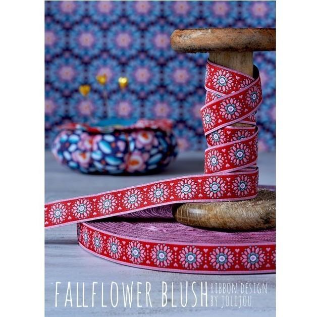Farbenmix Webband Fallflower Blush