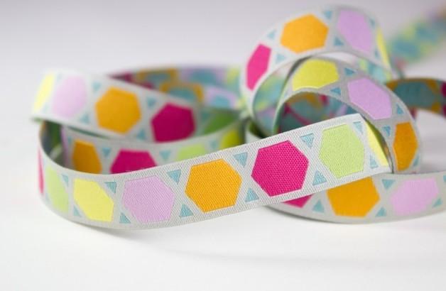 Geometric Webband Farbenmix