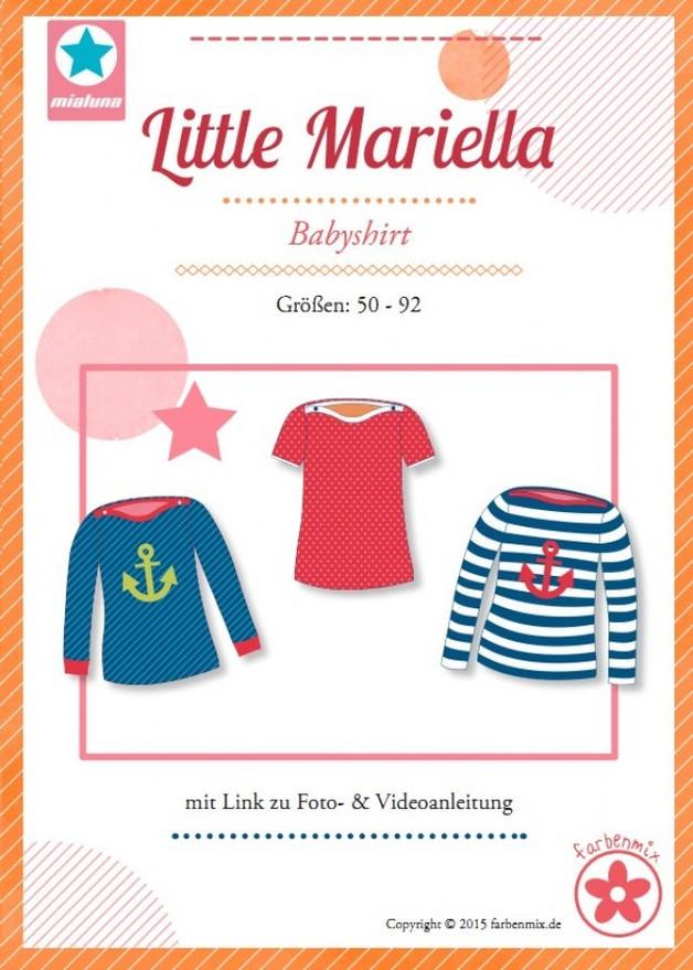 Little Mariella Shirt Maedchen Mialuna Farbenmix