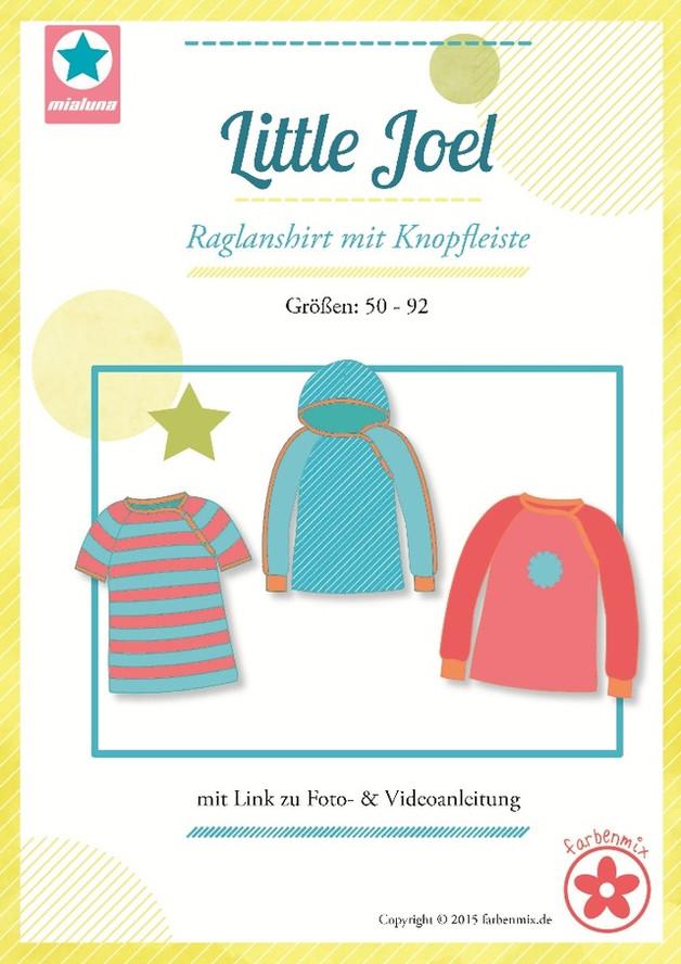 Schnittmuster Little Joel Raglanshirt