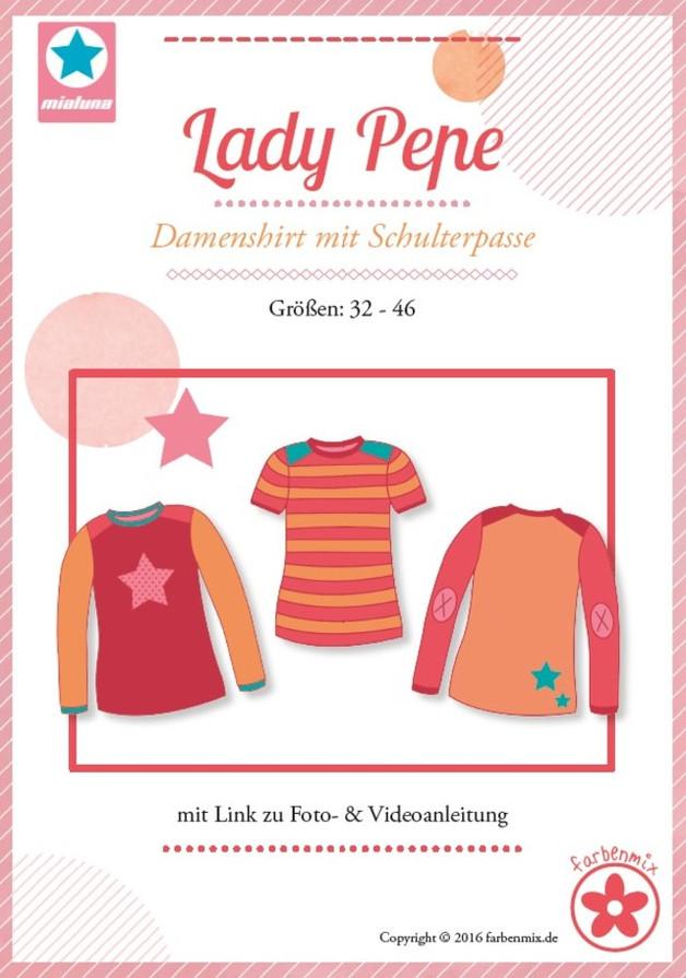 Schnittmuster Lady Pepe Shirt mit Passe