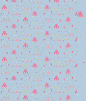 Jersey Stoff Lama hellblau Panel