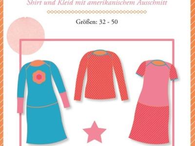 Lady Ophelia Schnittmuster Shirt und Kleid