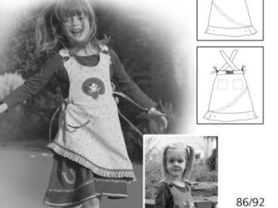 Schnittmuster Geske Farbenmix Traegerkleid Kleid