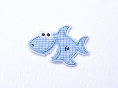 Hai Fisch Aufnaeher Applikation