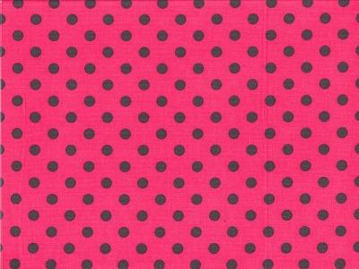 Feincord Josh pink dunkelgraue Punkte
