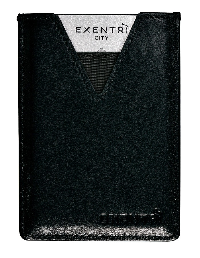Exentri Wallet City Black Ohne RFID - 5