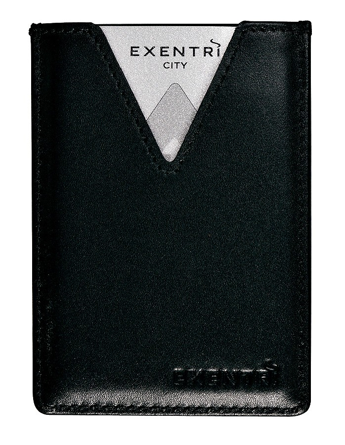 Exentri Wallet City Black Ohne RFID - 6