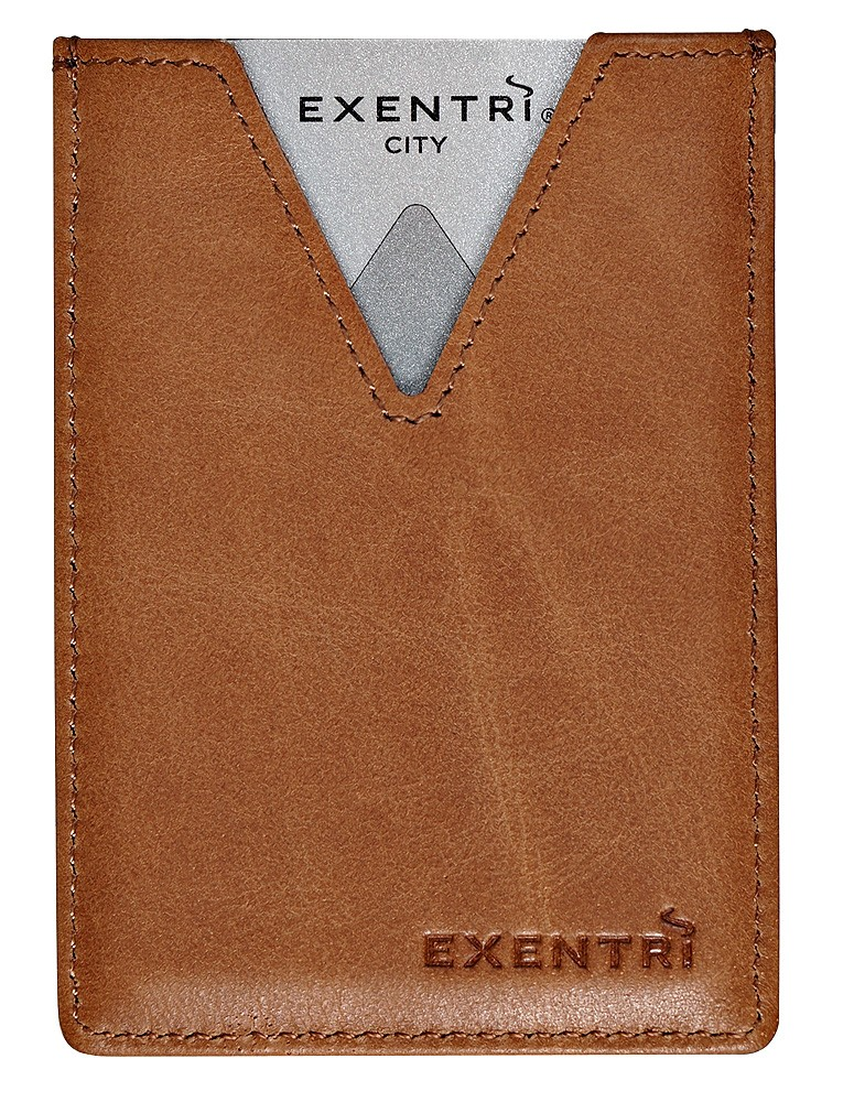 Exentri Wallet City Sand Ohne RFID - 4