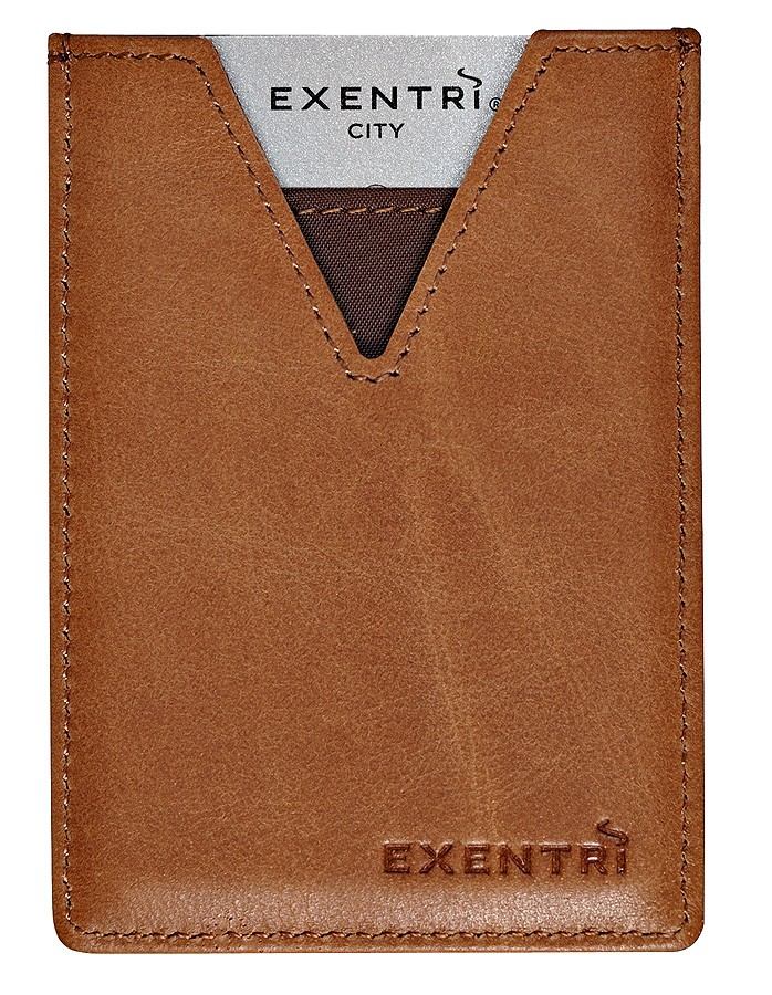 Exentri Wallet City Sand Ohne RFID - 5