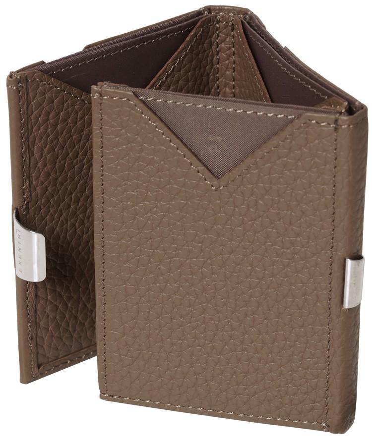 Exentri Wallet - Brown Structure - Ohne RFID Schutz