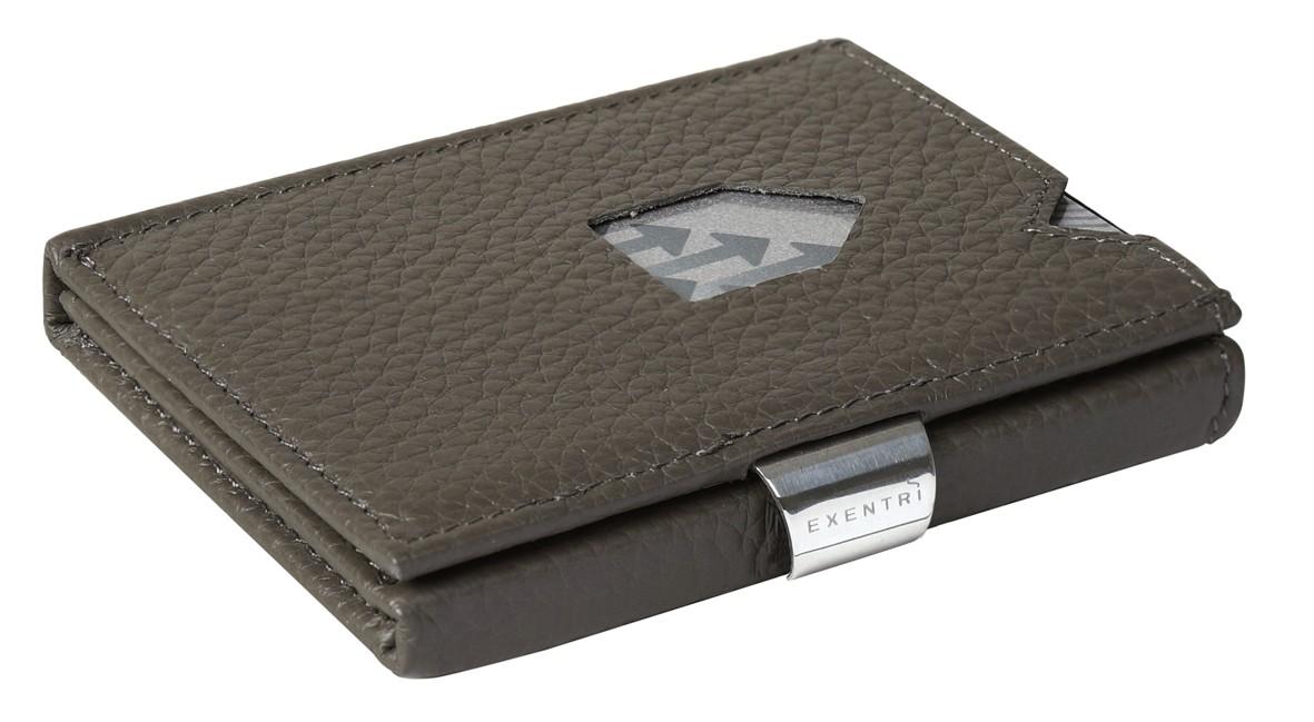 Exentri Wallet Grey Structure Ohne RFID - 1