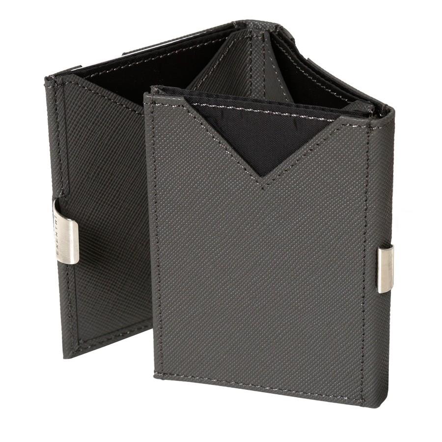 Exentri Wallet - Saffiano Grey - Ohne RFID Schutz