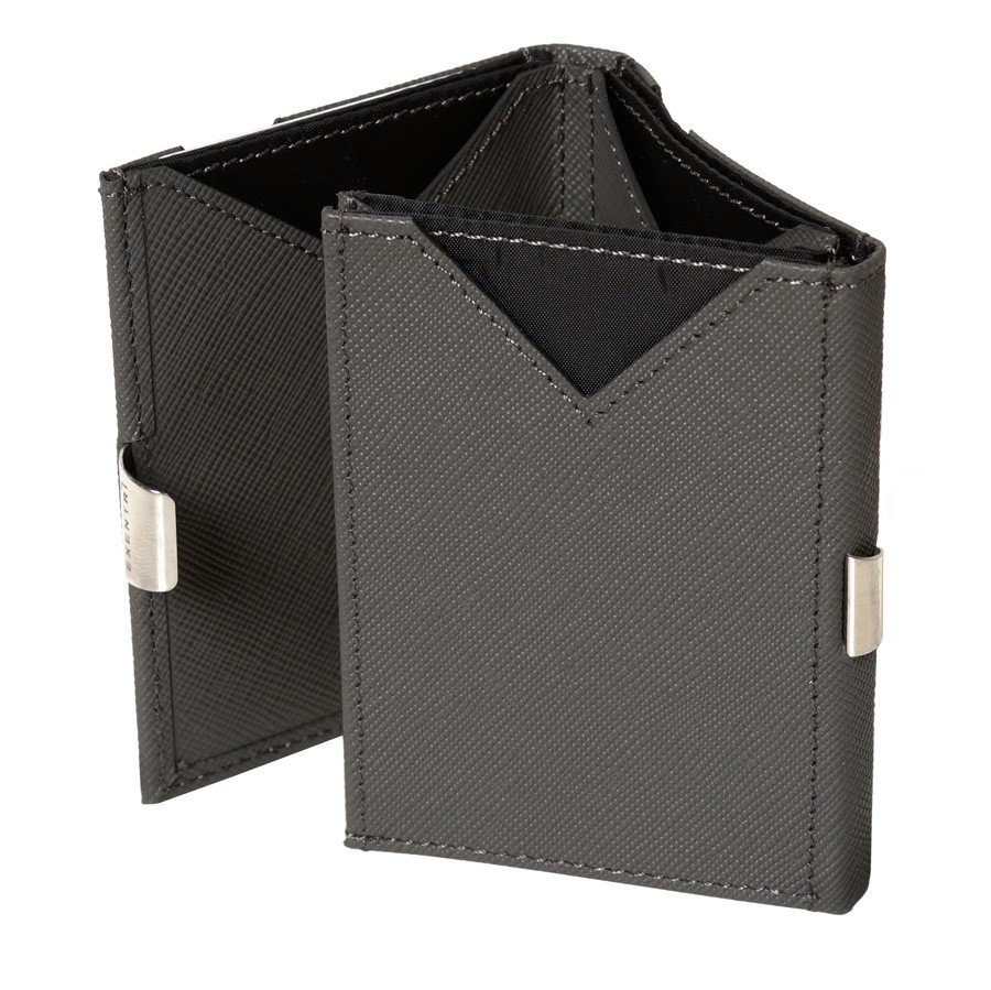 Exentri Wallet Saffiano Grey Ohne RFID - 3