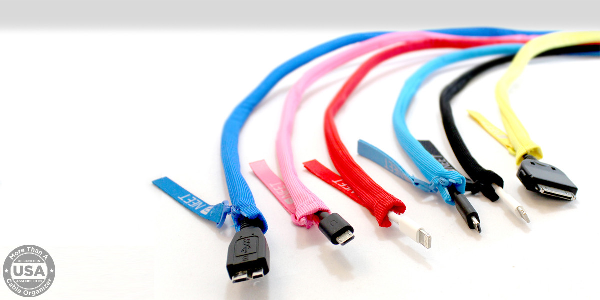 Neet Cable Keeper Pink 9