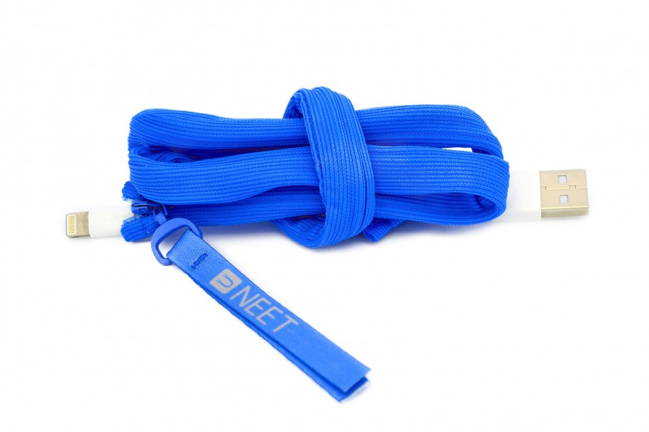 Neet Cable Keeper Blau