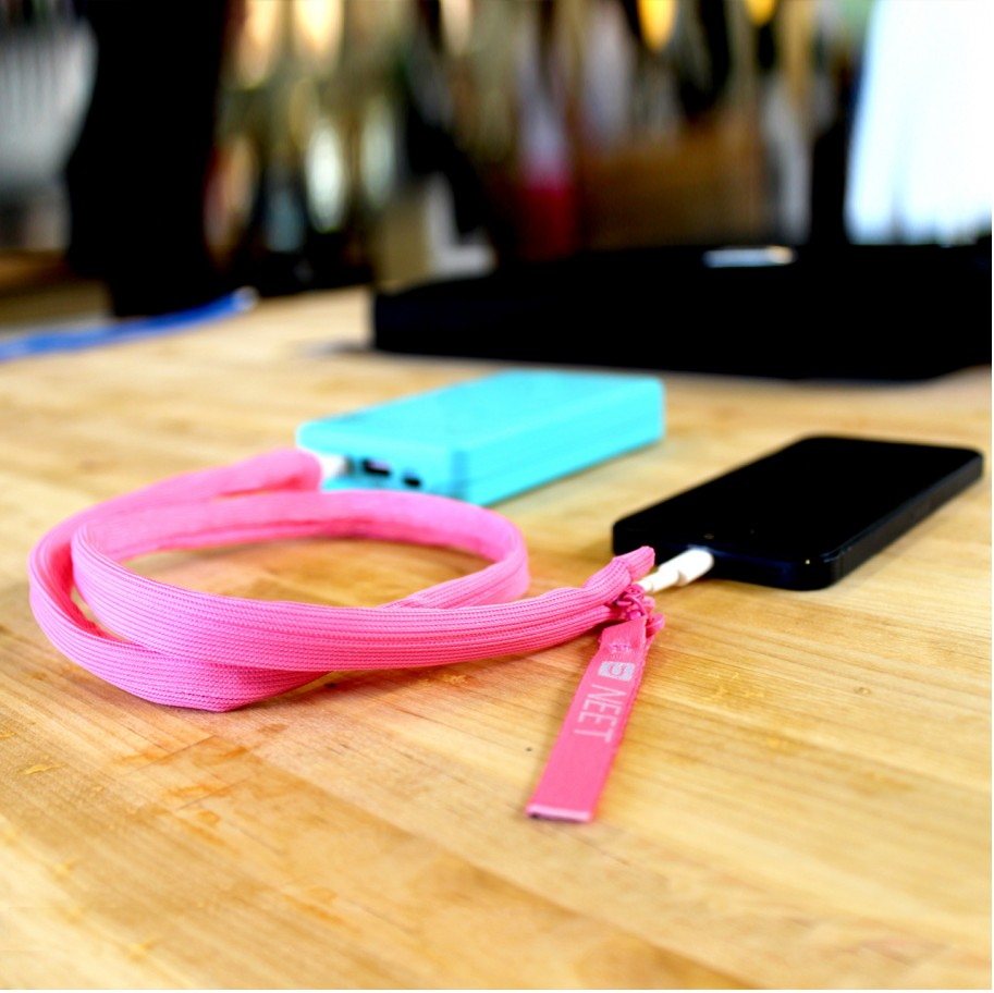 Neet Cable Keeper Pink 3