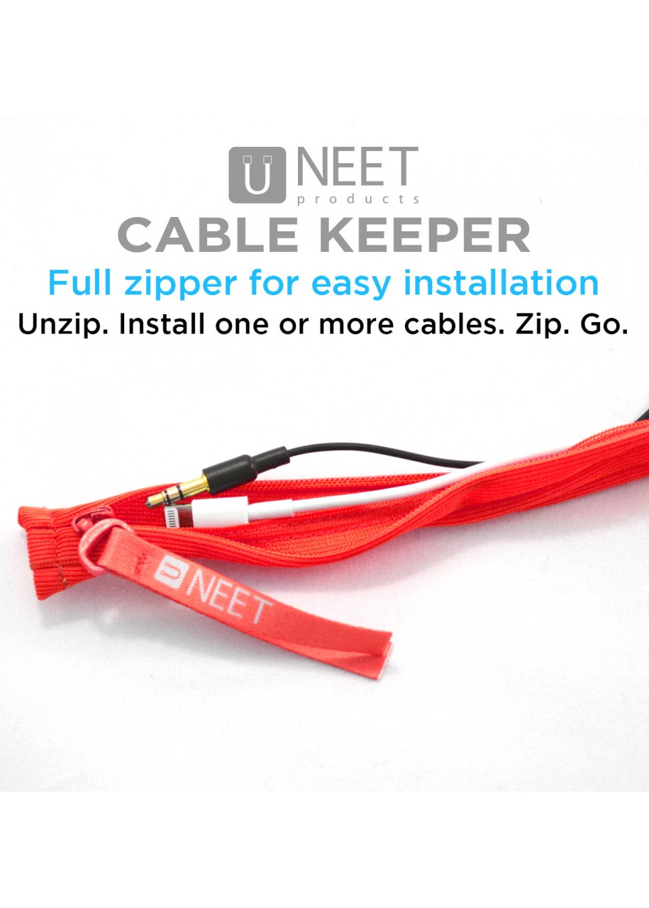 Neet Cable Keeper Schwarz 8