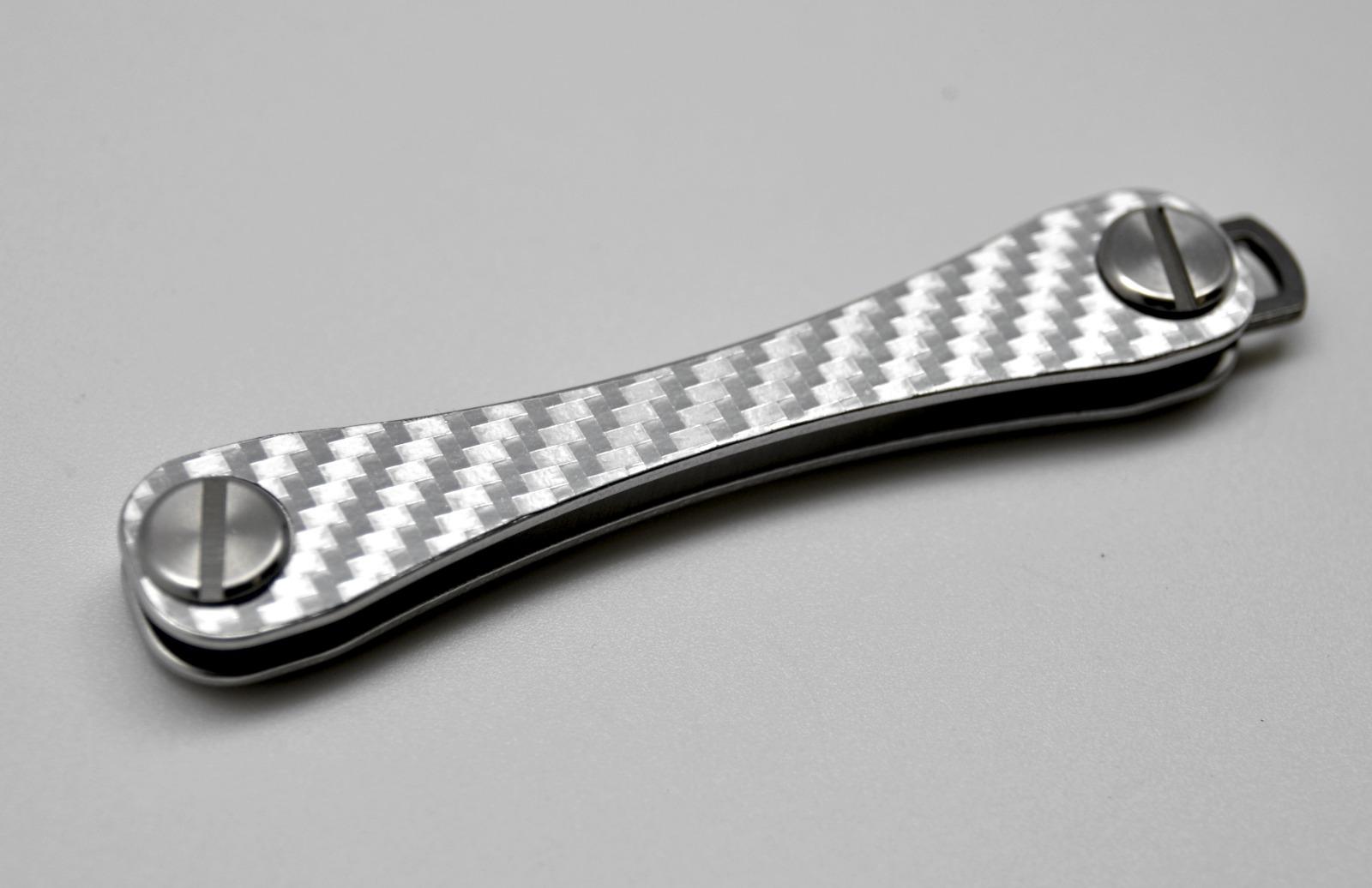 Aufkleber Carbon Struktur Silber - 2