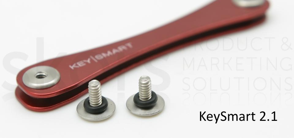 KeySmart Silber/Grau 21 inkl Anhängeröse 2