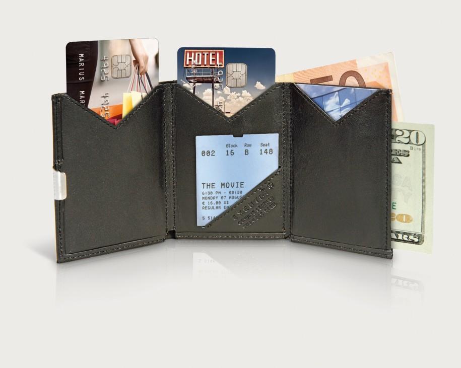 Exentri Wallet - Sand - Ohne RFID Schutz