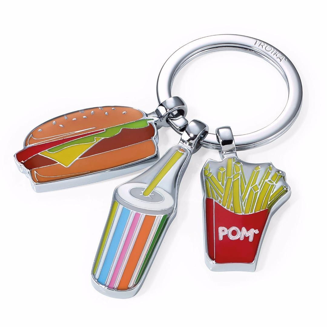 Schlüsselanhänger I love Burgers 2