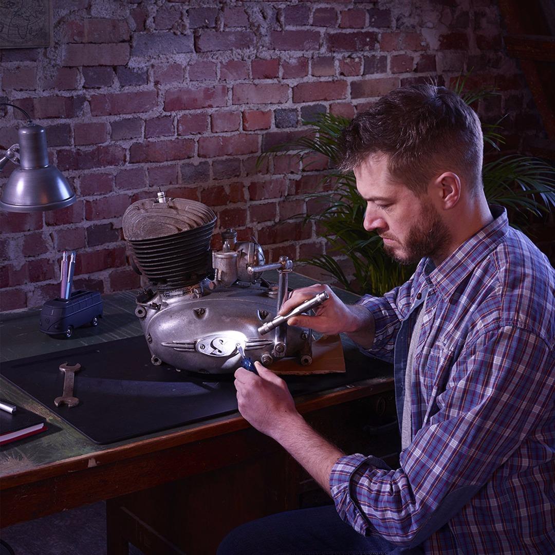 LED-Taschenlampe LIGHT WORK - Schwarz 5