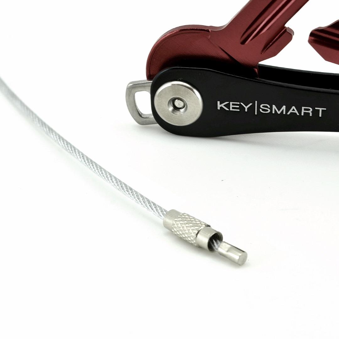 Schlüsselring Stahlseil 2