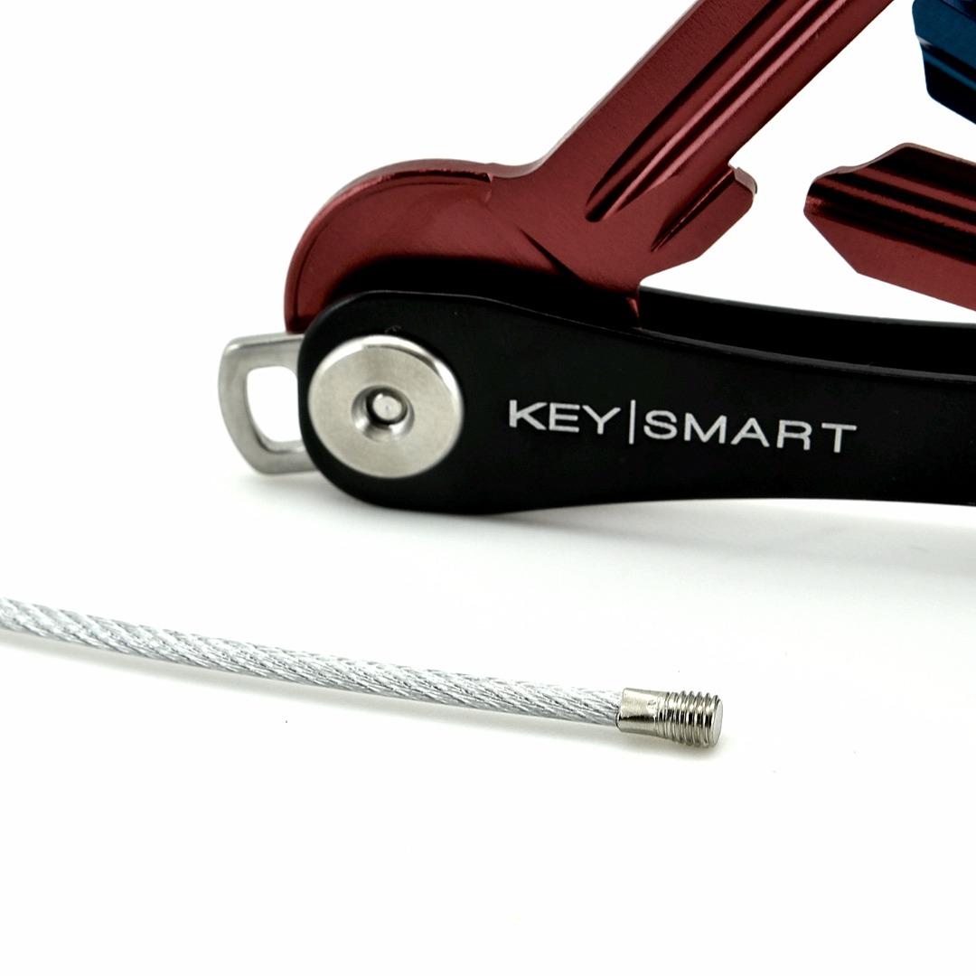 Schlüsselring Stahlseil
