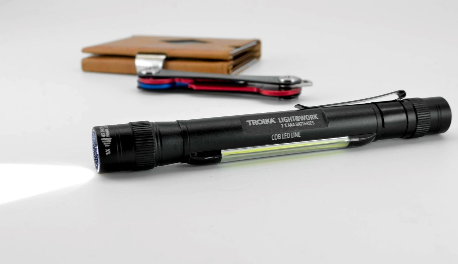 LED-Taschenlampe LIGHT WORK - Schwarz - 4