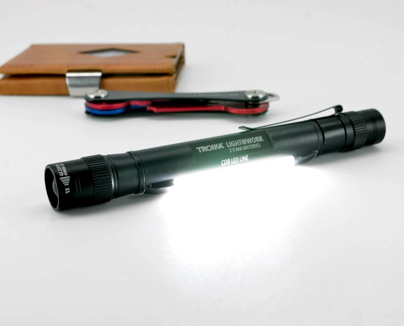 LED-Taschenlampe LIGHT WORK - Schwarz - 6