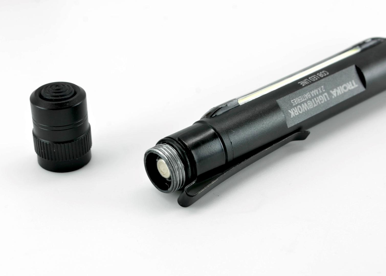 LED-Taschenlampe LIGHT WORK - Schwarz - 7