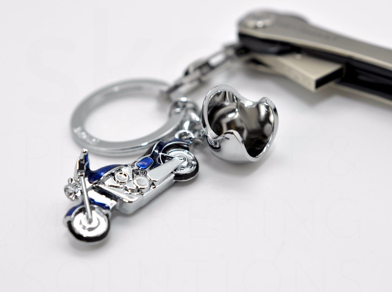 Schlüsselanhänger Key Cruiser rot oder blau - 2