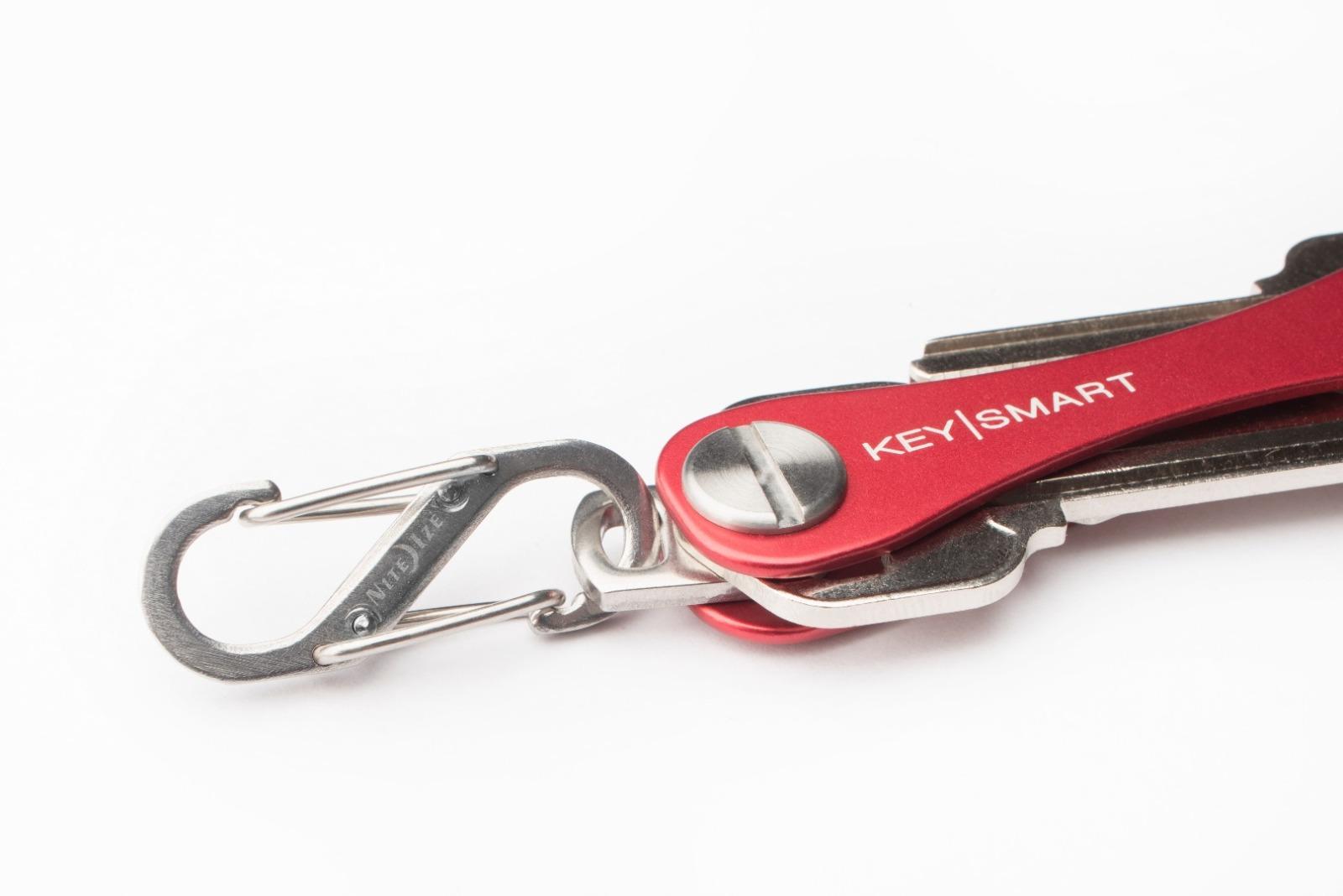 KeySmart Silber/Grau 2.1 inkl. Anhaengeroese