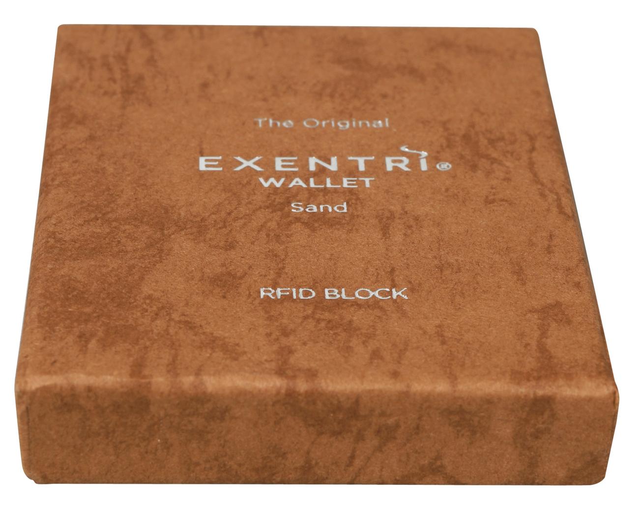 Exentri Wallet SAND CHESS mit RFID-Schutz - 3