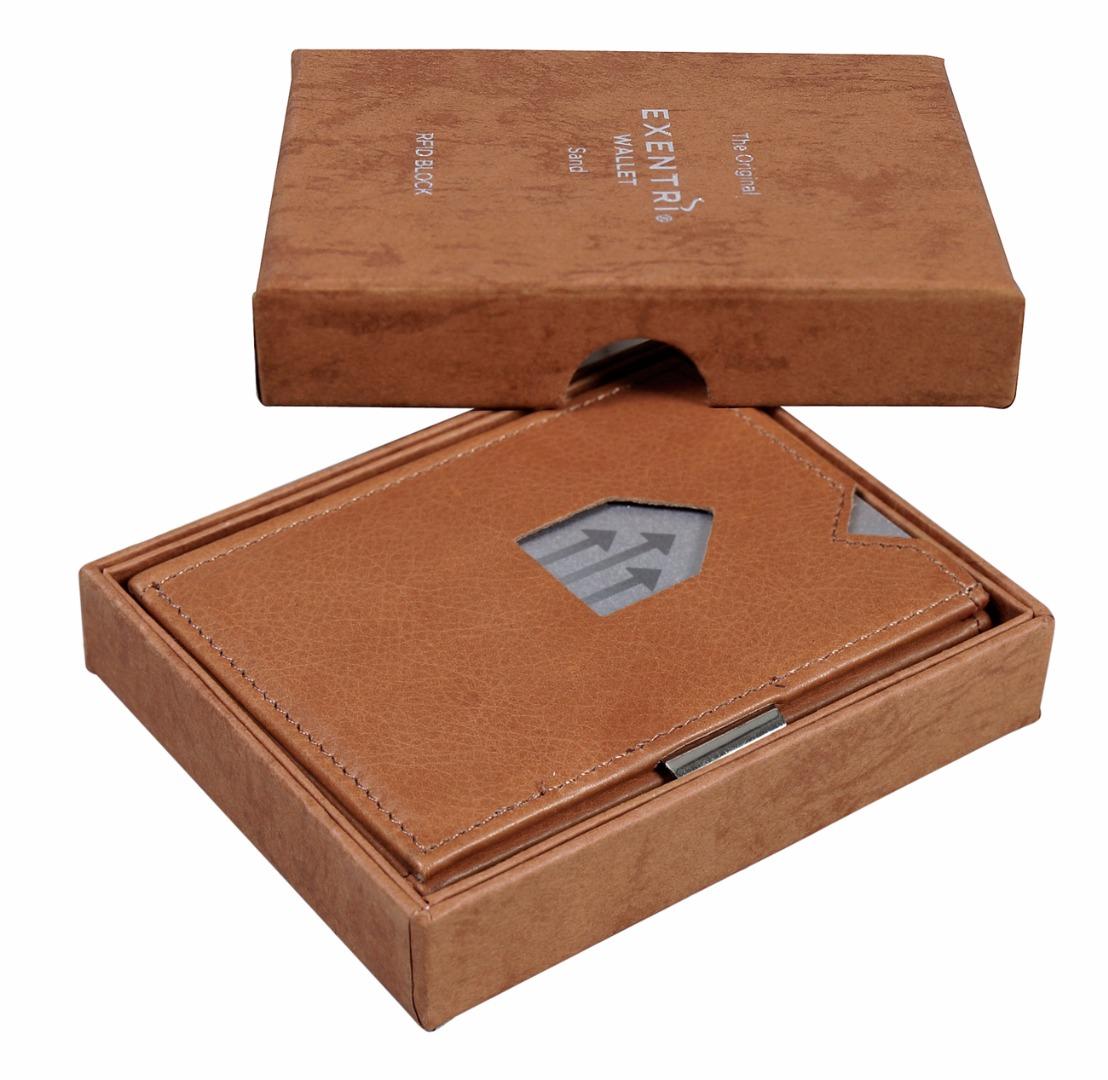 Exentri Wallet SAND mit RFID-Schutz 3
